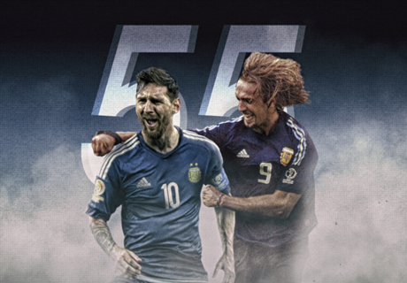 All of Messi's goals with Argentina