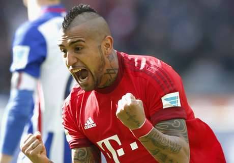 Vidal makes Bayern squad for ICC