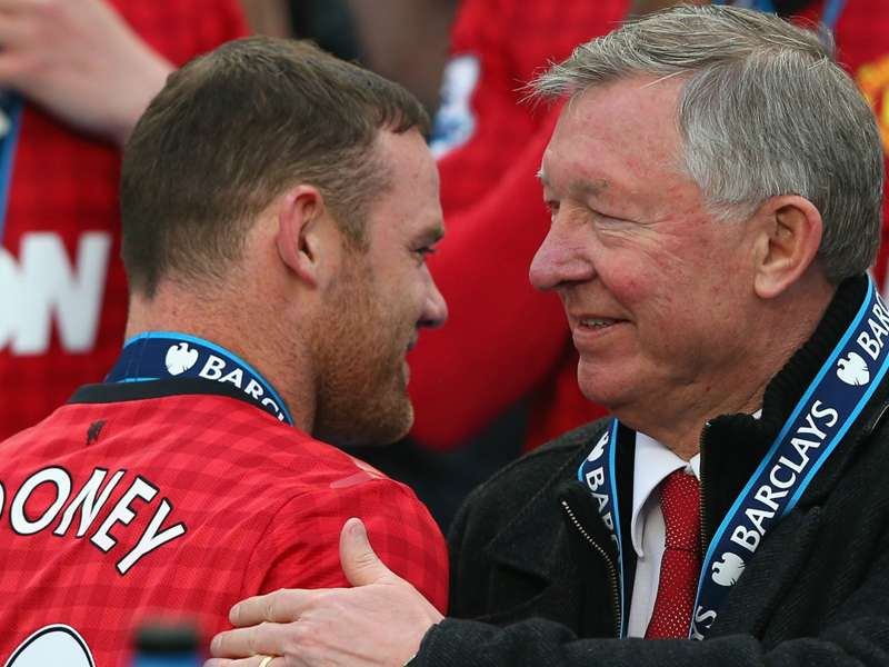 Rooney: Sir Alex is the greatest ever... but we had our differences!
