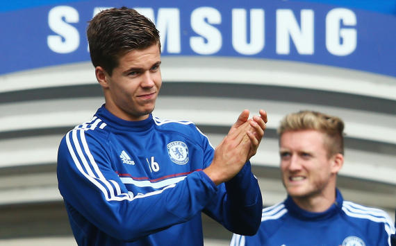 Marco van Ginkel and Andre Schurrle, Chelsea FC