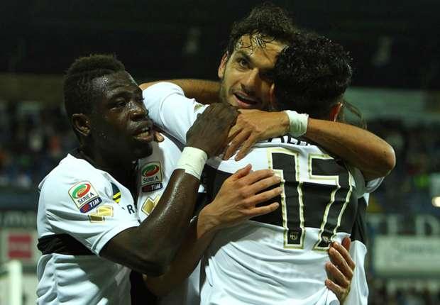 Parma feiert den EL-Platz