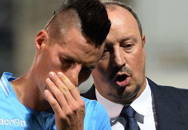 Hamsik Benitez Napoli