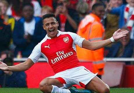 Alexis Sanchez Loloskan Arsenal