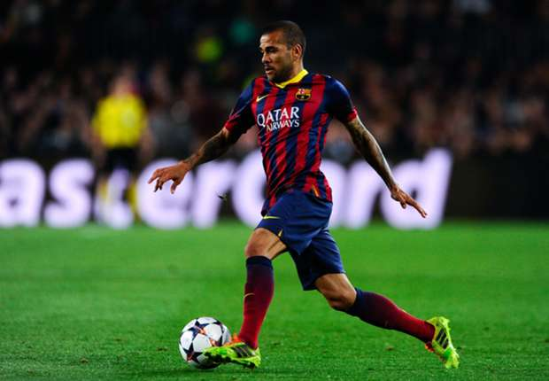Dani Alves a Barcelona player for now - Luis Enrique