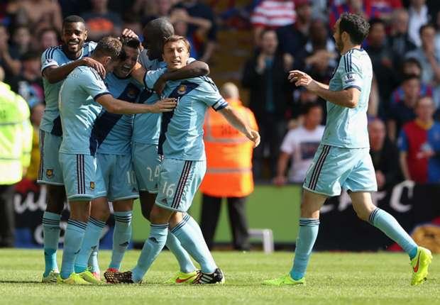 Mauro Zárate metió su primer tanto en West Ham.