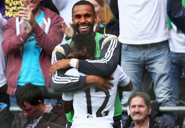 Dyer sumbang gol untuk tiga poin kedua Swansea