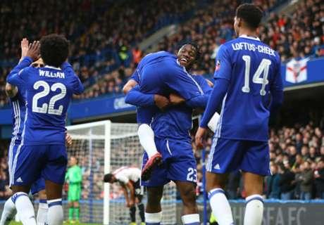 Chelsea goleó y avanzó a octavos