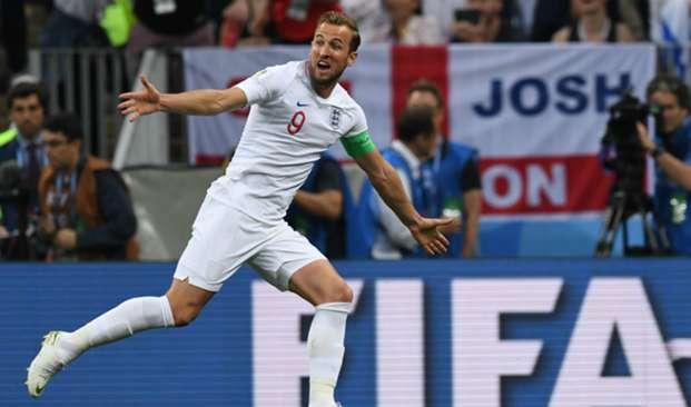 Harry Kane England v Croatia Semi Final FIFA World Cup Russia
