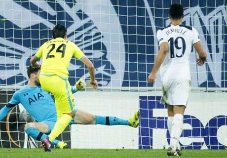 Tottenham no pudo ante Gent