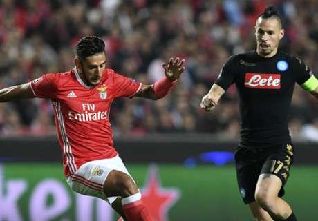 Benfica no pudo con el Napoli