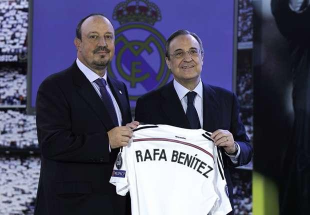 Benitez backed or sacked? Perez calls Real Madrid media conference