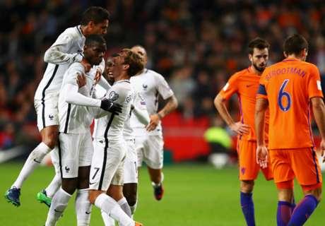 Francia venció a Holanda por Pogba