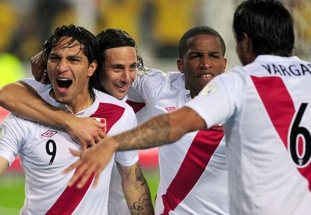Paolo Guerrero, Jefferson Farfán, Juan Vargas