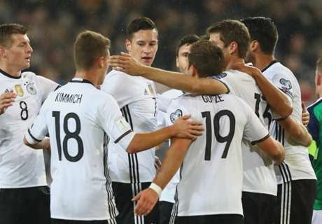 Cómodo triunfo de Alemania