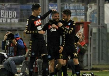 Napoli no se baja de la pelea
