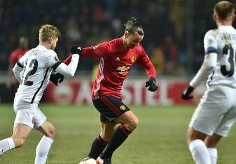Man Utd ganó y sigue en carrera