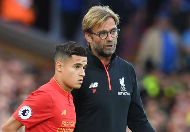 Klopp: Liverpool know probable outcome for Coutinho