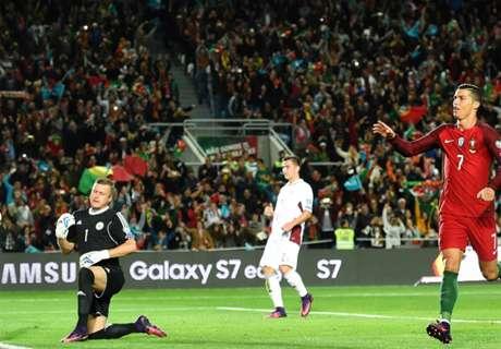 CR7 brilla en victoria de Portugal