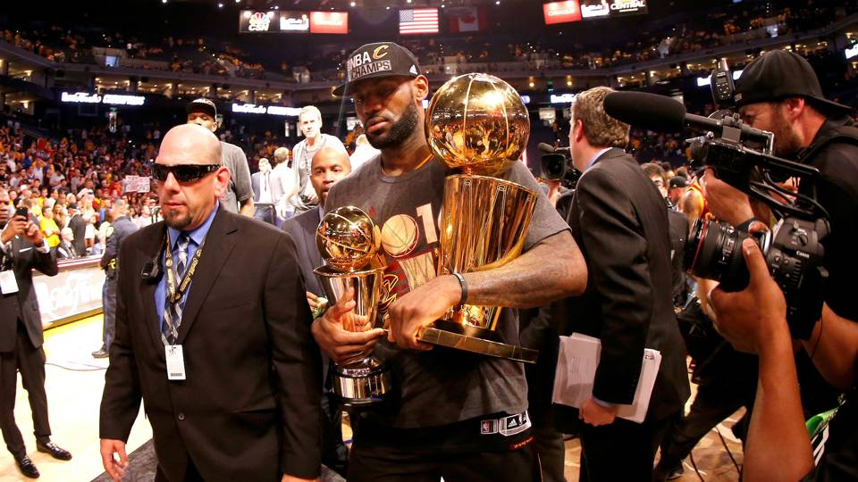 71ccbe82171 LeBron James Golden State Warriors v Cleveland Cavaliers NBA Finals Game  Seven 19062016