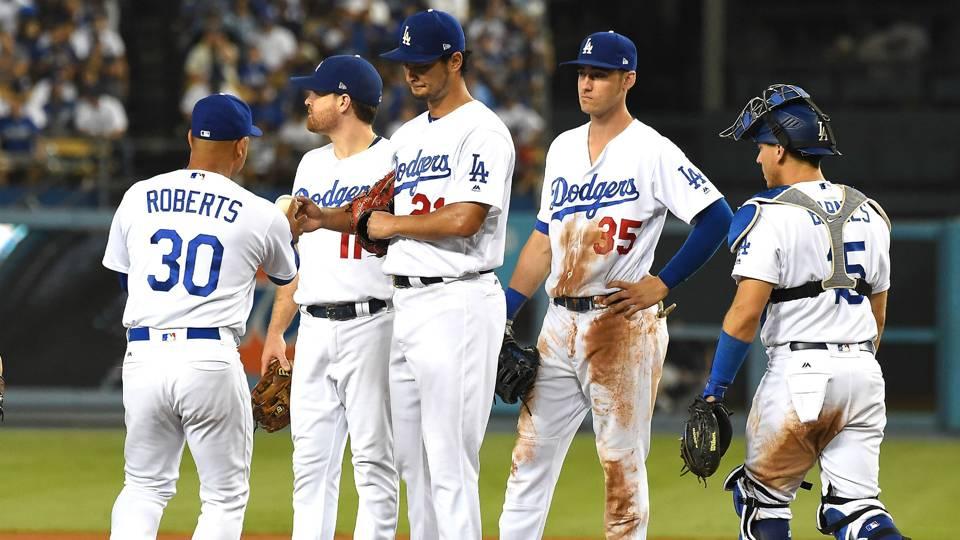 LA Dodgers vs Colorado Rockies MLB 08092017