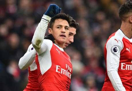 Arsenal, de la 'mano' de Alexis