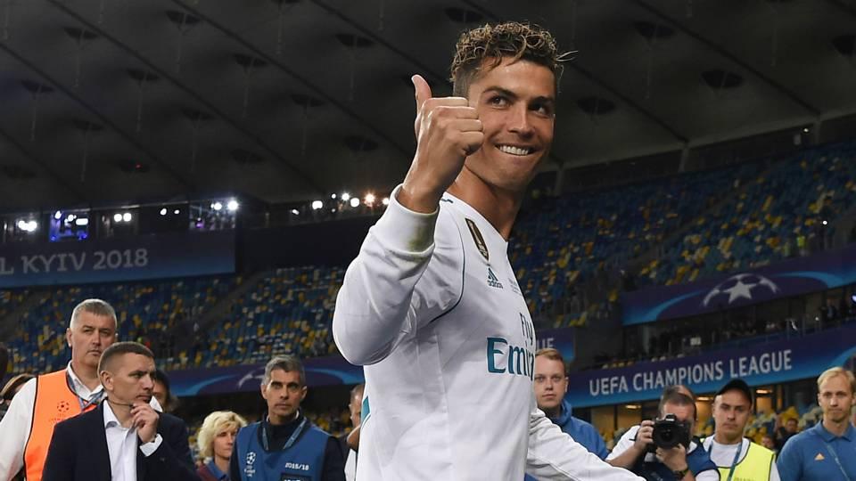 Cristiano Ronaldo Real Madrid v Liverpool UEFA Champions League Final 26052018
