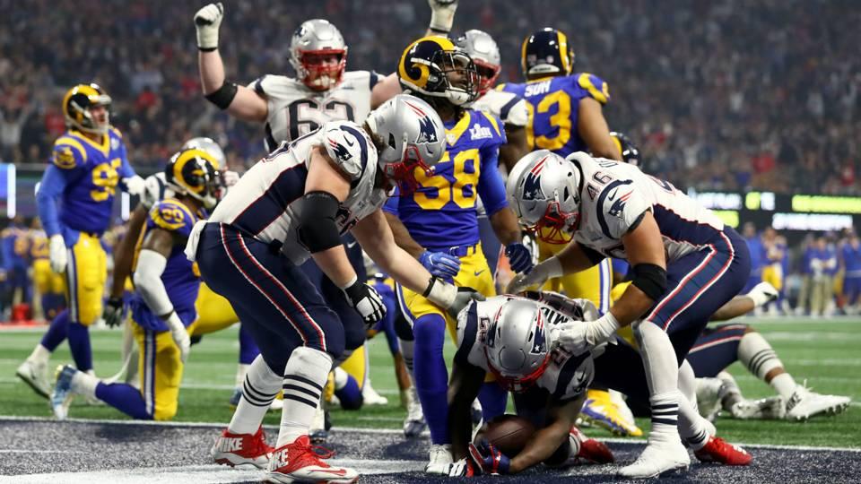 New England Patriots vs Los Angeles Ramos Super Bowl LIII 02032019