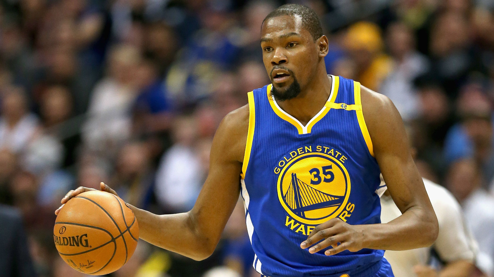 NBA playoffs 2017: Kevin Durant sits out Game 2 as ...