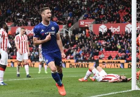 Cahill le dio el triunfo a Chelsea en el final