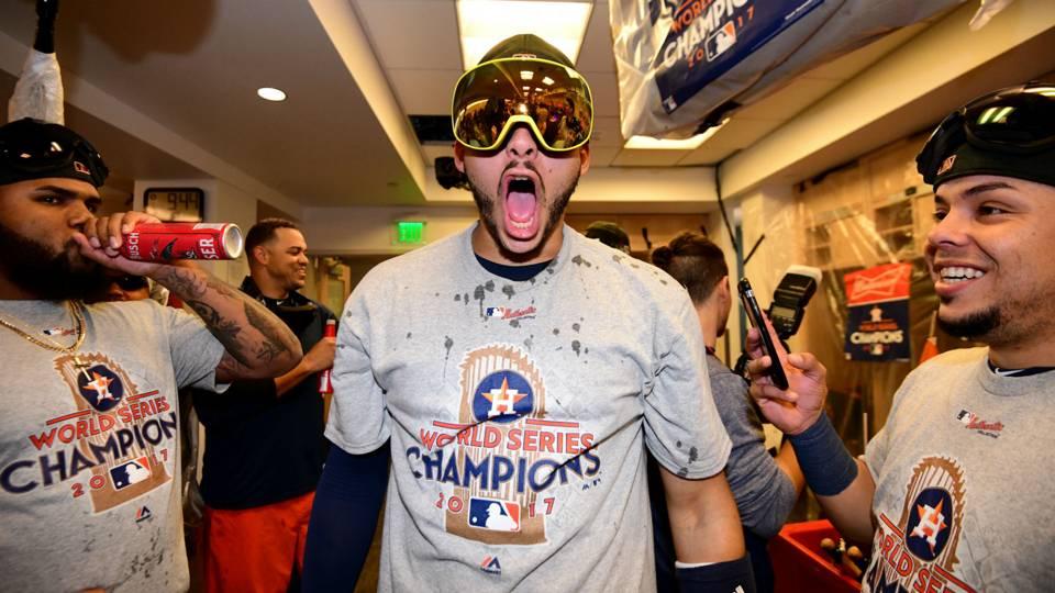 Carlos Correa Houston Astros MLB Serie Mundial 01112017