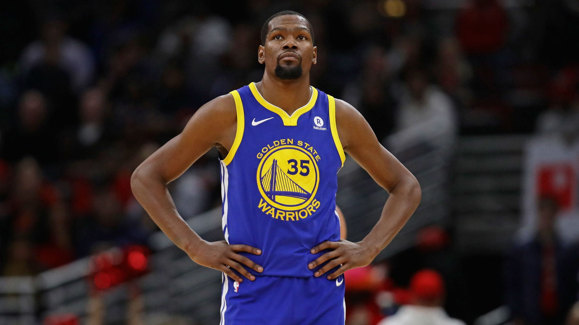 Durant, Thompson shine for Warriors in Game 1 blowout win against Spurs