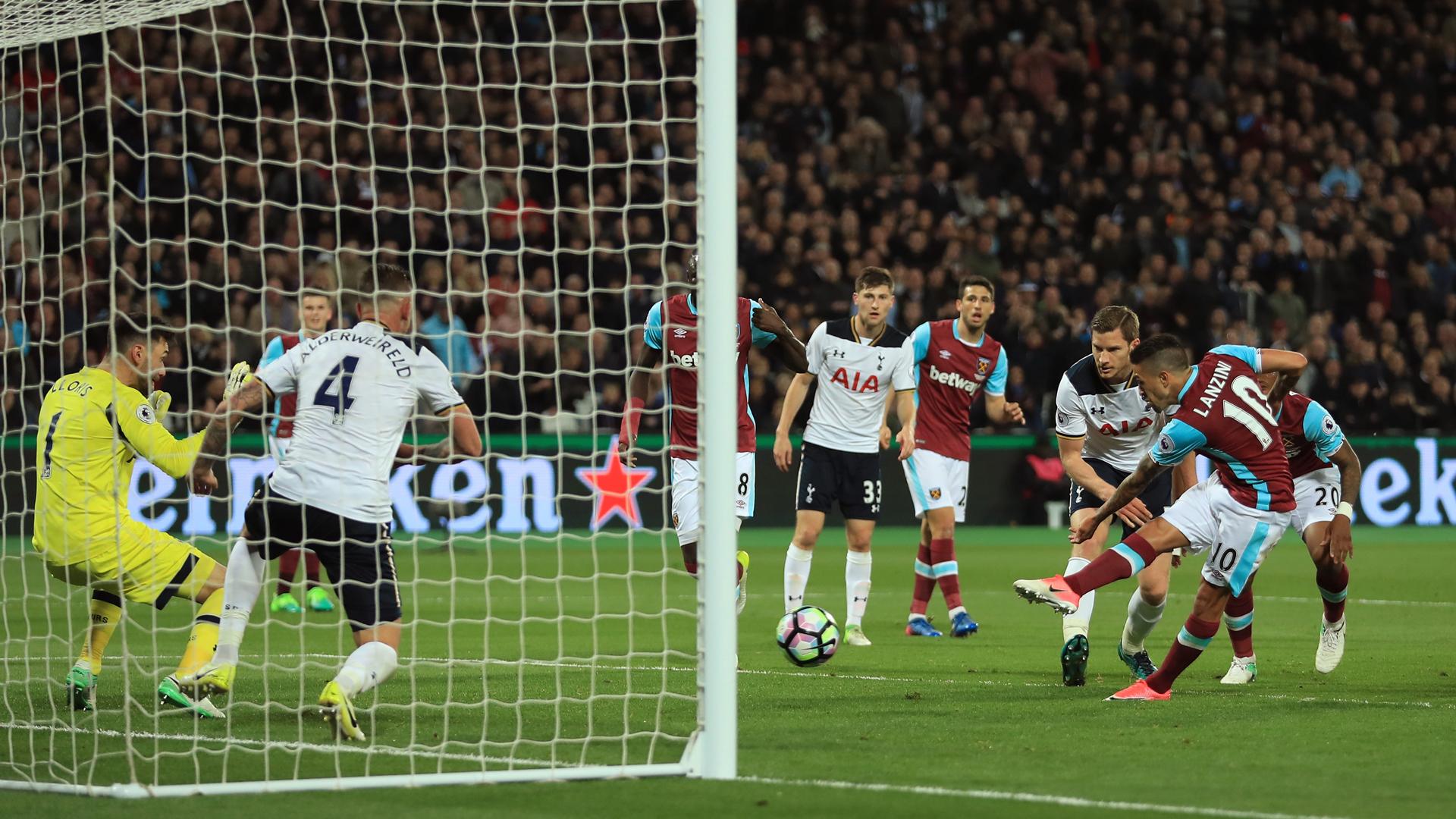 Gol argentino da el triunfo al West Ham ante Tottenham