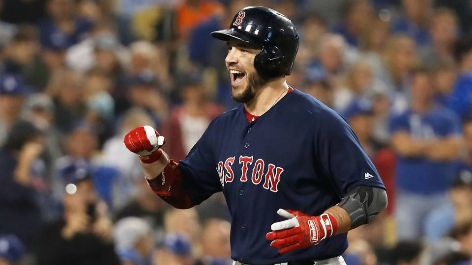 MLB free agency news  Red Sox agree to 1-year deal with 1B Steve Pearce 2cc07689859