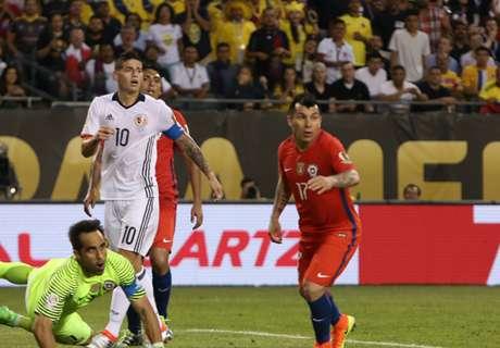 ¿Chile y Colombia afuera del Mundial?