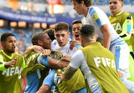 Uruguay eliminó a Portugal