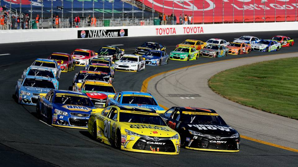 Danica Patrick 2018 >> NASCAR playoff picture, standings, lap leaders entering second half of 2017 season | NASCAR ...