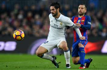 'He has a lot of quality' - Alba wants Real Madrid's Isco at Barcelona