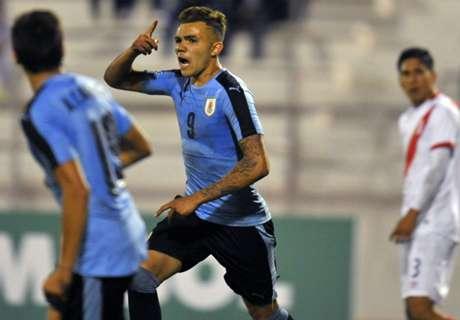 Uruguay eliminó a Perú