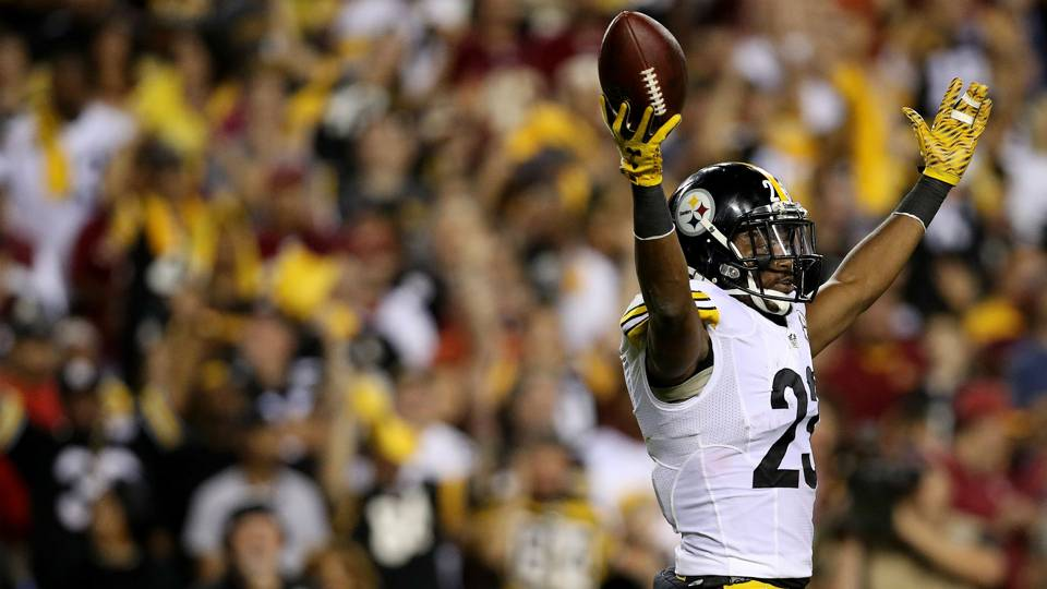 Mike Mitchell Steelers v Redskins 13092016