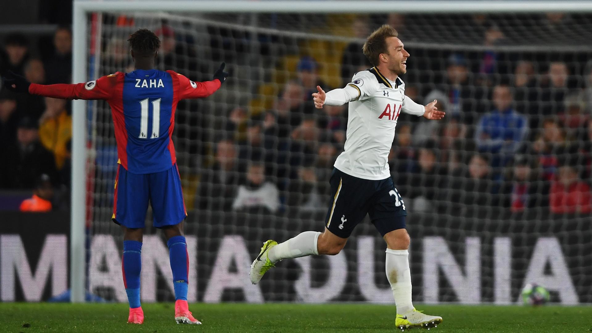 Tottenham 1-0 Crystal Palace: octavo triunfo consecutivo de los