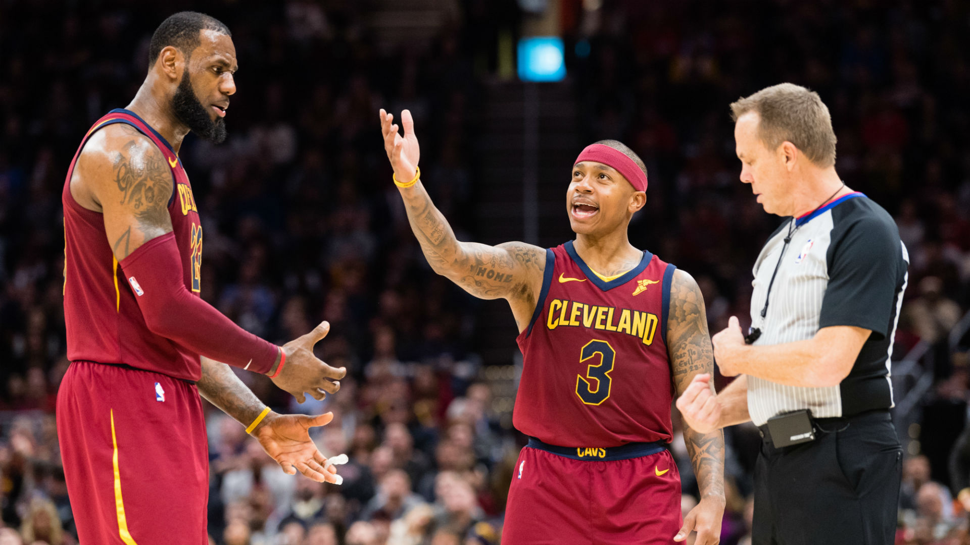 LeBron James is reportedly unhappy with how he and Isaiah Thomas are ... ec3c1cd44