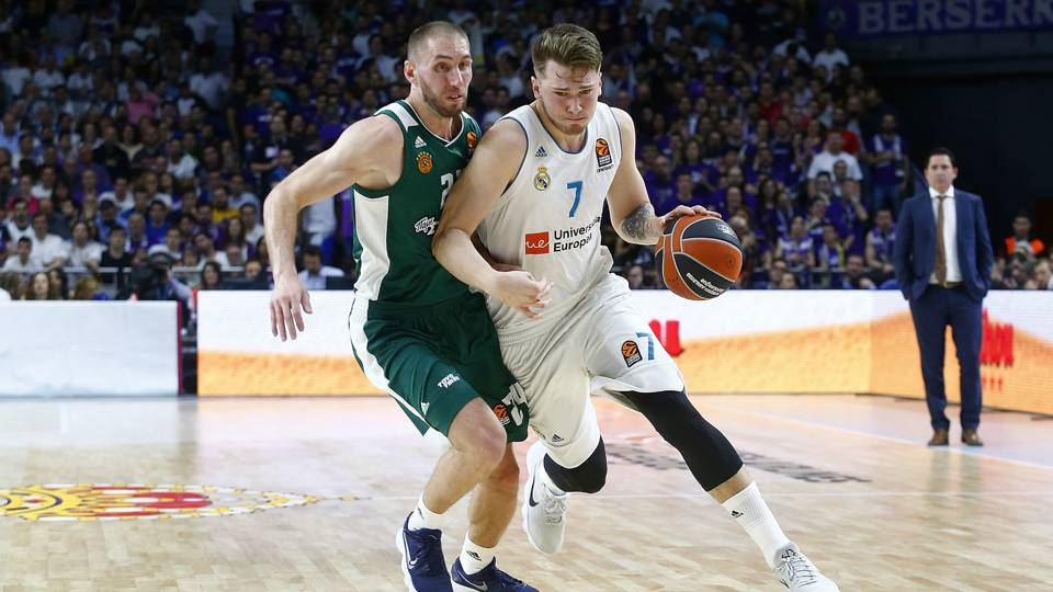 Luka Doncic Real Madrid v Panathinaikos Euroleague 27042018