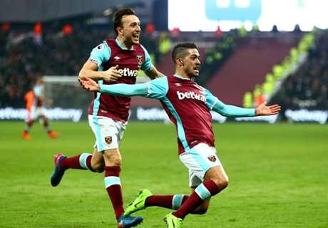 ► West Ham empató con gol de Lanzini