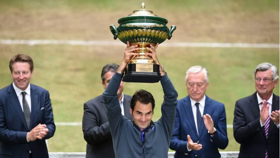 Roger Federer ATP 250 Halle 21062015