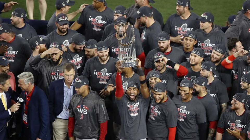 Boston Red Sox v Los Angeles Dodgers World Series MLB 28102018