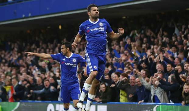 Diego Costa Chelsea v Middlesbrough Premier League 08052017
