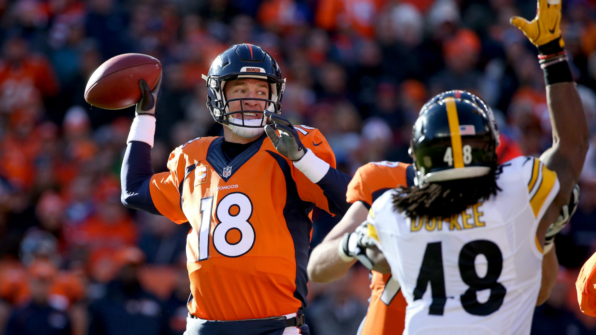 NFL Playoffs: Pittsburgh Steelers at Denver Broncos