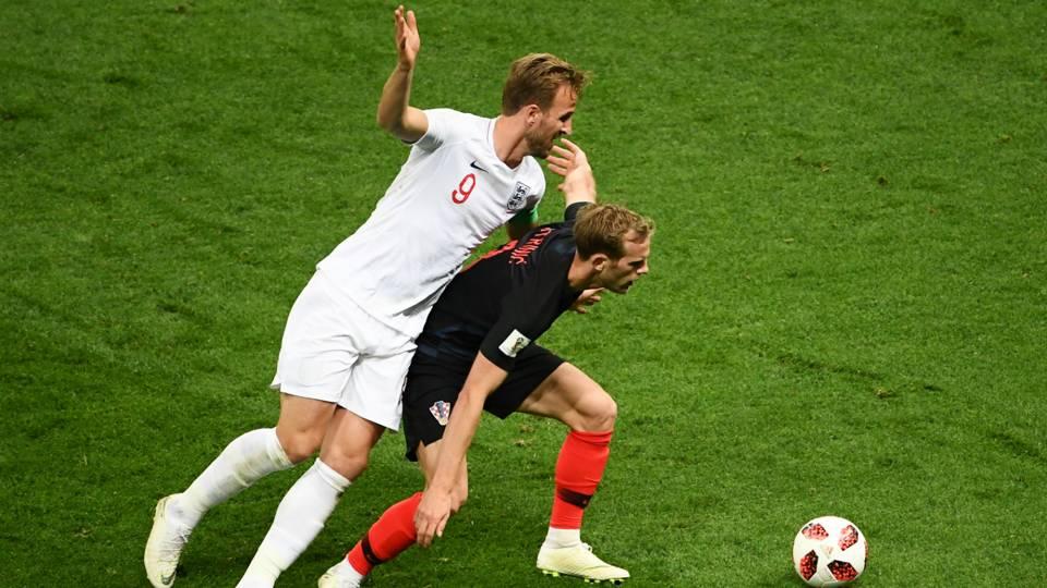 England v Croatia Semi Final FIFA World Cup Russia 11072018