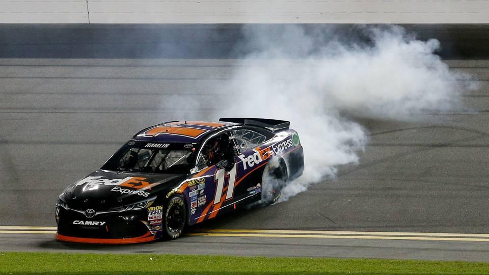 Denny Hamlin Toyota NASCAR Sprint Cup Series Sprint Unlimited 13022016