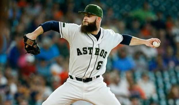 Dallas Keuchel Astros vs Orioles MLB 27052017